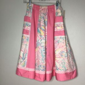 Deadstock Reversible Skirt Carefree Fashion Pink M